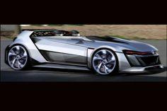 """Moter Sounds : VWの「グランツーリスモ6」用コンセプトモデル""""GTI ヴィジョン GT""""のデザインスケッチが発表前に明らかに"""
