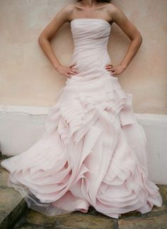 My Vera Wang gown