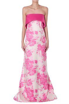 Shop Summer 15 - Dahlia Bouquet Charlotte Gown