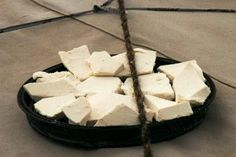 Aaruul - Dried Curds - Mongolian Recipes Vic and Lin like these!  Salty or sweet?