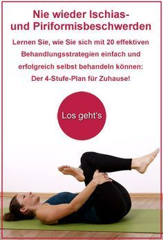 ➤ Starke Schmerzen in Gesäß und Beinen? So schützen Sie sich vor dem Pirifo… ➤ Strong pain in the buttocks and legs? How to protect yourself from the Piriformis syndrome! Sports experts reveal three effective exercises for the acute case Yoga Fitness, Fitness Workouts, Fun Workouts, Fitness Motivation, Health Fitness, Pilates Workout Videos, Fitness Hacks, Syndrome Pyramidal, Piriformis Syndrome