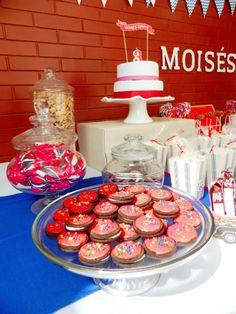 Galletas -  Fiesta de Garaje vintage. Cookies - Birthday party vintage garage