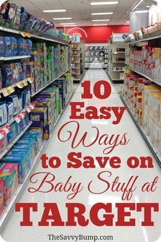 If you shop at Target, you need to know about these 10 easy ways to save on all things baby!