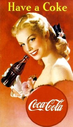 1950s Ads Slogans | Coca-Cola Advertising Slogans from 1886 – 2005 | liberallifestyles ...