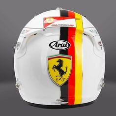 Vettel Helmet Design 2015