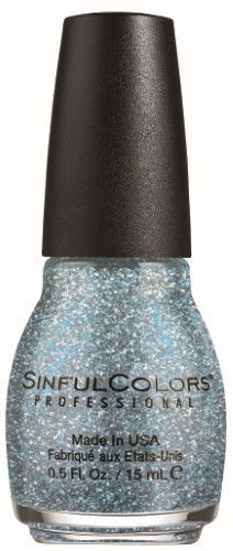 SinfulColors Nail Polish, Ice Dream, 0.5 Fl Oz