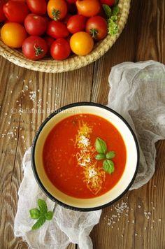 Obiad gotowy!: Toskańska zupa pomidorowa z serem