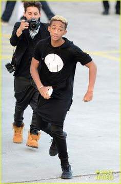 Willow & Jaden Smith at the American Airlines Arena on January 26, 2013