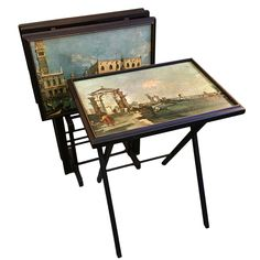 TV Tray Tables Became Popular In The 1950s As A Way To Hold Food And  Beverage