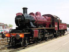 LMS Ivatt Class 2MT 46441 at Crewe Works.jpg