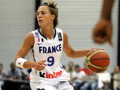 Céline DUMERC, capitaine de l'équipe de France de basket
