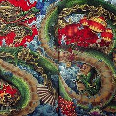 繼上一次的Mythomorphia中的神龜,我完成了第四張正式的主題:中國青龍 Chinese Jade Dragon #fabercastellpolychromos #carandachemuseum #prismacolor #adultcoloringbook #coloringbookforadults #mythomorphia #kerbyrosanes #mythology