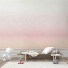 Skymning Digitaltapete - rosa - Sandberg Tyg & Tapet