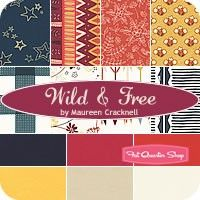 Wild & Free Fat Quarter BundleMaureen Cracknell for Limited Edition of Art Gallery Fabrics