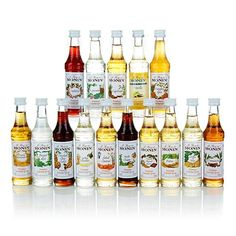 Monin Gourmet Flavorings 15-piece Holiday Collection