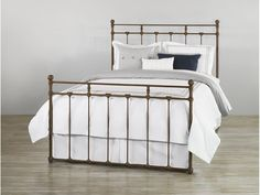 Wesley Allen Iron Bed 1004 from Walter E. Smithe Furniture + Design