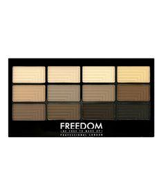 Freedom Makeup London Pro 12 - Audacious Mattes  - Cliquez pour agrandir l'image