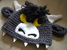 Wild Thing baby hat!   Cottonhead @Etsy  #babygift #babyshower #babyclothes