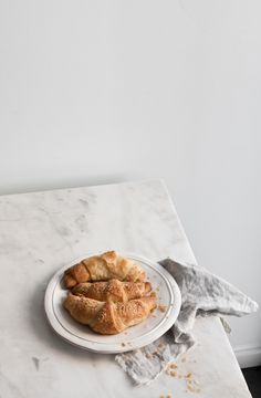 Vegan Spelt Croissants | Photography and Styling by Sanda Vuckovic