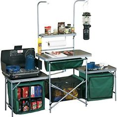 Camping Kitchen from Cabela's, love it!