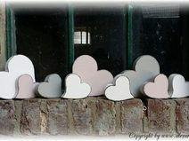 Muttertag Herz, Herzen, Zum Muttertag aus Holz