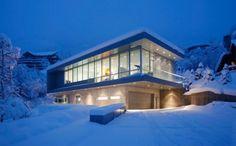 Modern Residence in Aspen Mountain from Studio B Architects