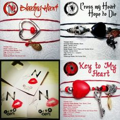 I WANT ONE! the never take it off bracelets!