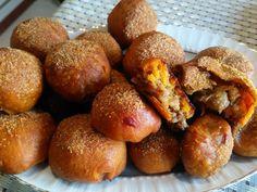 Akissmutfak: Kıymalı, Patatesli Zerdeçallı Poğaça