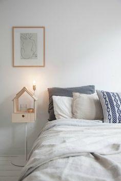 Una casa n rdica llena de ideas get the look dormitorio ideas y habitaci n de matrimonio - Dulce hogar villalba ...