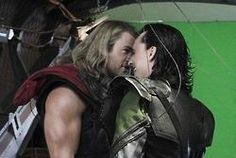 """""""Brother, there's something on your face."""" """"I believe it's you."""" I love when they get oh so close to one another...."""