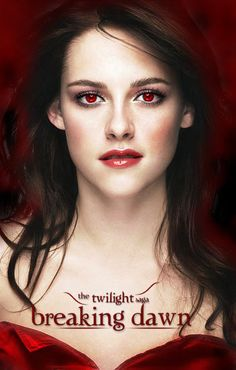 Bella Swan (Kristen Stewart) - The Twilight Saga - Breaking Dawn part 2 Twilight Film, New Twilight, Twilight Breaking Dawn, Breaking Dawn Part 2, Nikki Reed, Zooey Deschanel, Robert Pattinson, Kristen Stewart, Love Movie