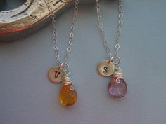 Bridesmaid Gift Set of 3 NecklacesWire by TheButterflyGarden7, $89.00