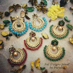 Beautiful chand balis by Pal D'zigns