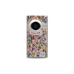 Heart Flip Camcorder ❤ liked on Polyvore featuring fillers, electronics, accessories, camera, other, phrase, quotes, saying and text
