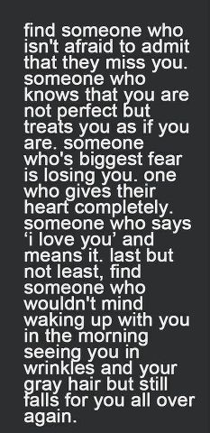 yupp. i agree............ you find out when you are away from them if you miss them or not.....i don't like that test!! <3