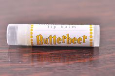 Butterbeer Lip Balm - natural - butterscotch and vanilla, wizardry - harry potter on Etsy Daniel Radcliffe, Winter Soldier, Emma Watson, Natural Lip Balm, Harry Potter Love, Harry Potter Candles, Mischief Managed, Geek Out, Hogwarts