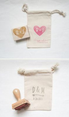 cool Custom Stamps for DIY Wedding Projects | Emmaline Bride®
