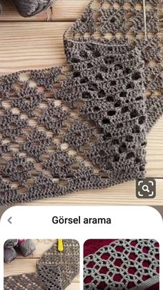 Crochet Shawl, Crochet Stitches, Knit Crochet, Crochet Patterns, Crochet Home, Free Crochet, Diy Projects To Try, Crochet Projects, Shoulder Necklace