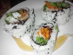 Two Mom's Catering, Bahn mi Roll   Vegan and Gluten free Shushi roll  #sacramento #wedding #weddings #catering