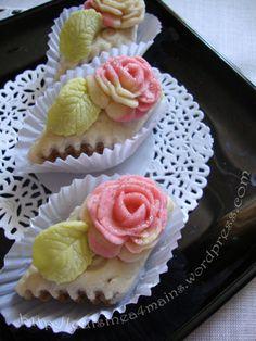 kefta à la rose et aux amandes