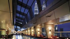 Traders Hotel in Kuala Lumpur, Malaysia.  From the World's Coolest Pools: Infinity and Beyond, Travel Channel