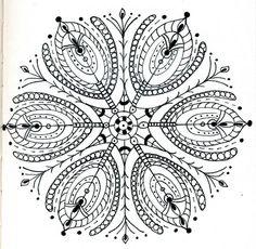 Mandala by dots 'n' doodles, via Flickr