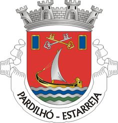 Brasão de armas de Pardilhó Portugal, Ex Libris, Elmo, Coat Of Arms, Portuguese, History, Sinks, Flags, Badges