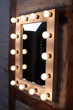 Theater mirror Hollywood mirror vanity mirrors by Funktionalist