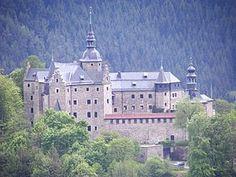 Burg Lauenstein von Westen aus gesehen