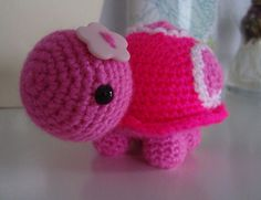 Pinkie The Turtle | Another turtle. I added a button to it's… | Flickr