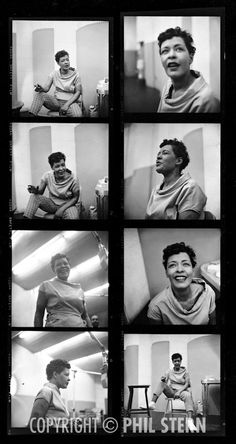 Phil Stern's Archives » Billie Holiday