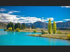 Lac Ruataniwha Nouvelle-Zelande