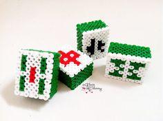 Perler 3D Mahjong Tiles (Set of 2). $4.25, via Etsy.