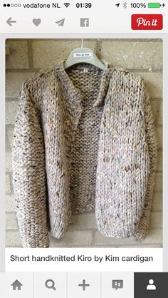 Kiro by kim bomber handknitted cardigan door Kirobykimchunkyknits Knitting Yarn, Baby Knitting, Kiro By Kim, How To Purl Knit, Cardigan Pattern, Knit Fashion, Knitting Designs, Knitwear, Knitting Patterns